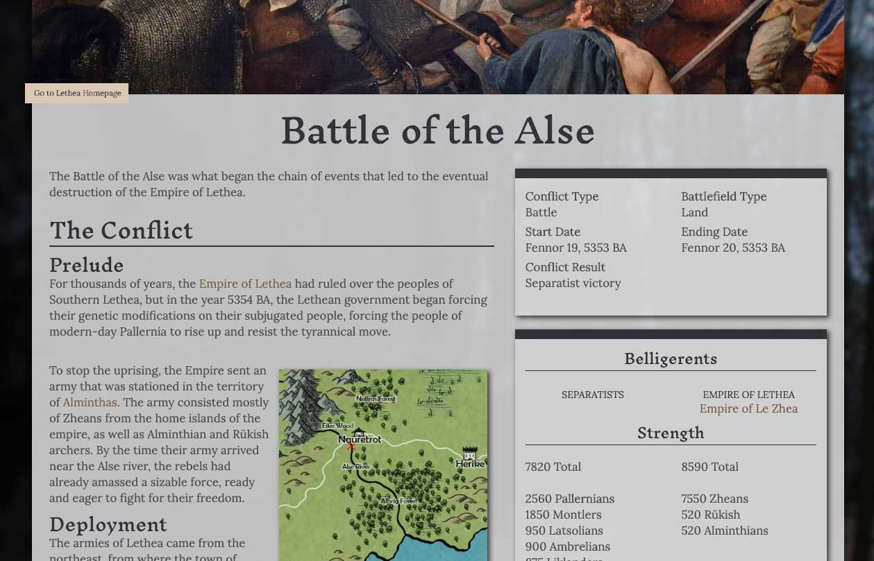 The Battle of Alse by Dhelian